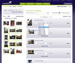 Revelado online Extrafilm: Selección de copias y tamaños