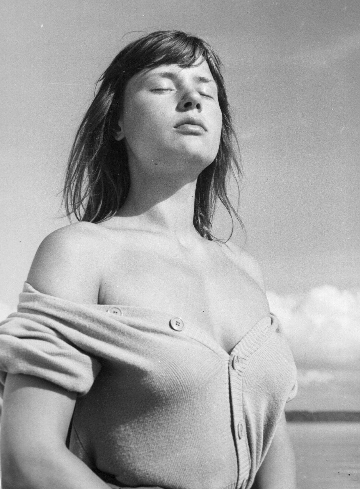 """Harriet Andersson en """"Sommaren med Monika"""" (""""Verano con Mónica"""") de Ingmar Bergman"""