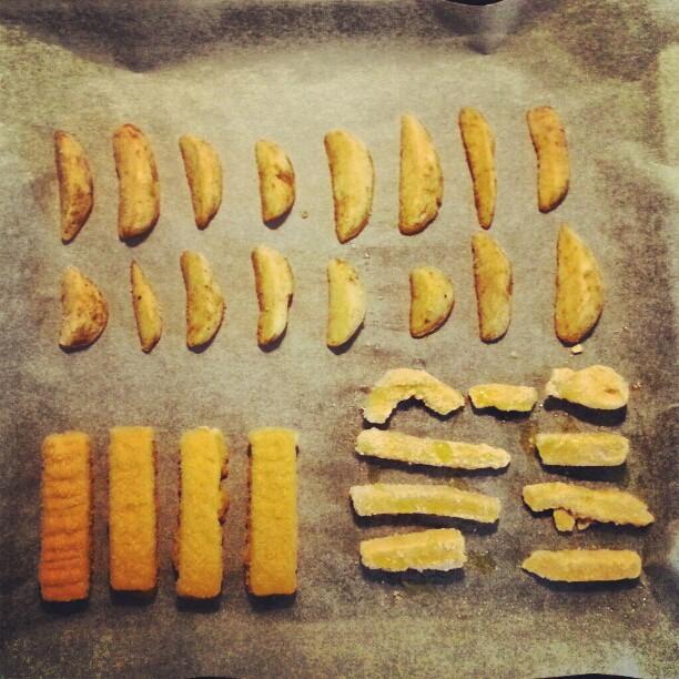 Instagramas: 16 patatas, 4 palitos, 9 rabas