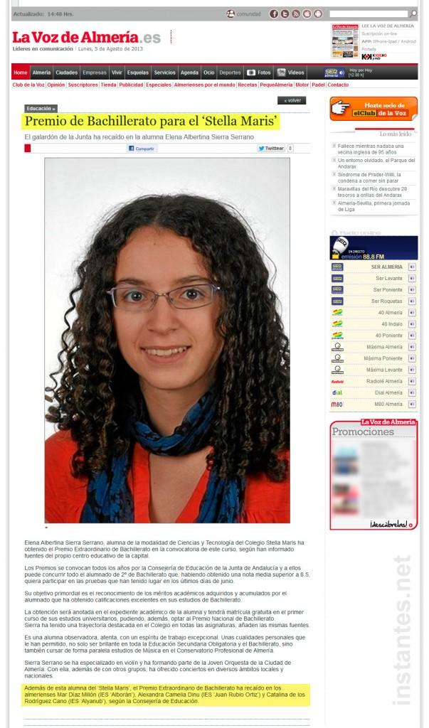 La voz de Almería y el mal periodismo