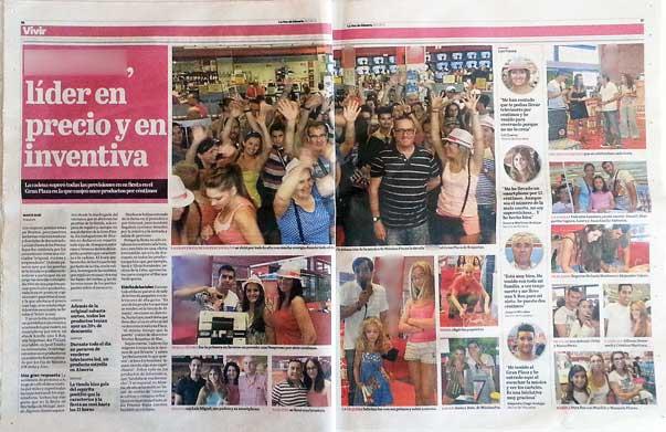 La voz de Almería (páginas interiores)