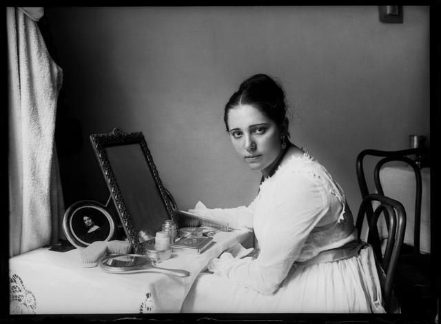 retrato de Raquel Meller, cantante y actriz de cine. Madrid,6 de mayo de 1917. Foto de Luís Ramón Marín