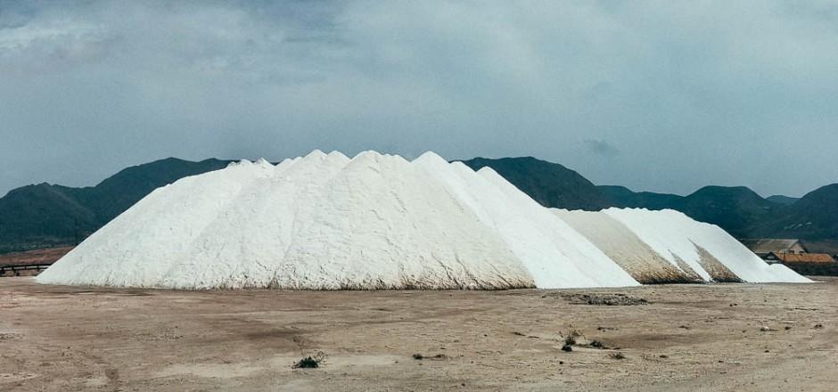La gran montaña de sal