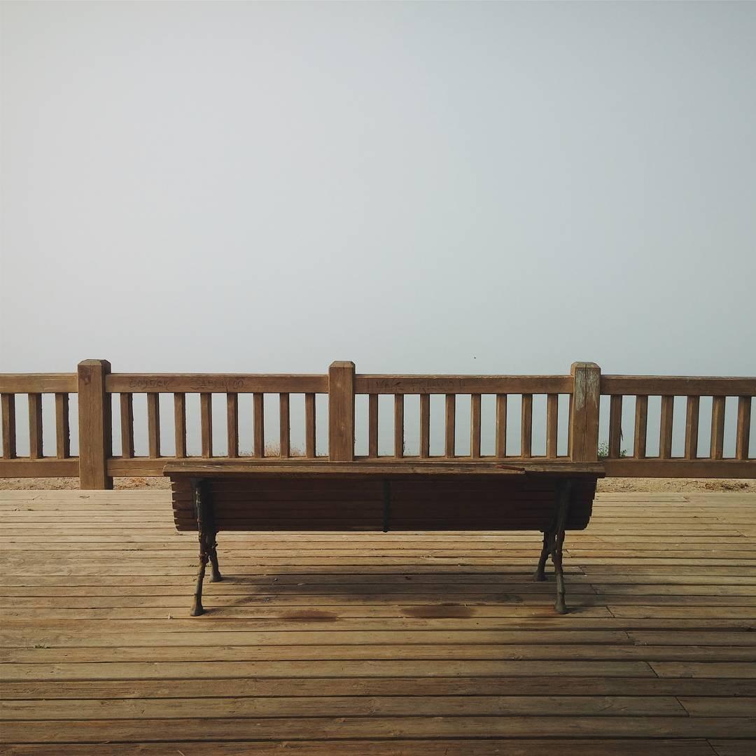Instagramas: Banco en la niebla