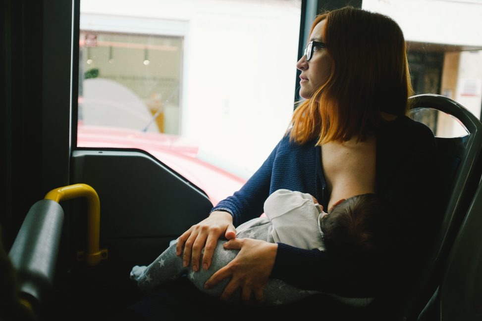 Foto presentada al concurso de lactancia materna.