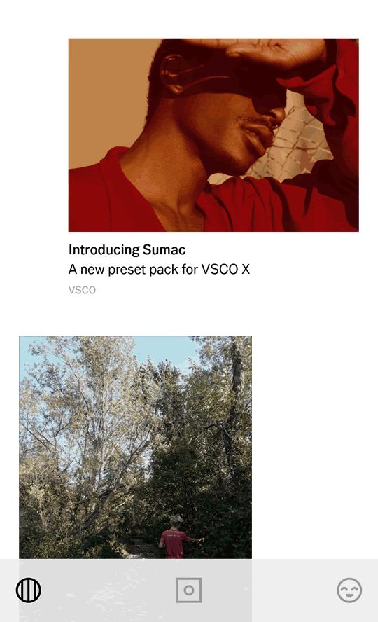 Flujo de trabajo con fotografías hechas con móvil: VSCO