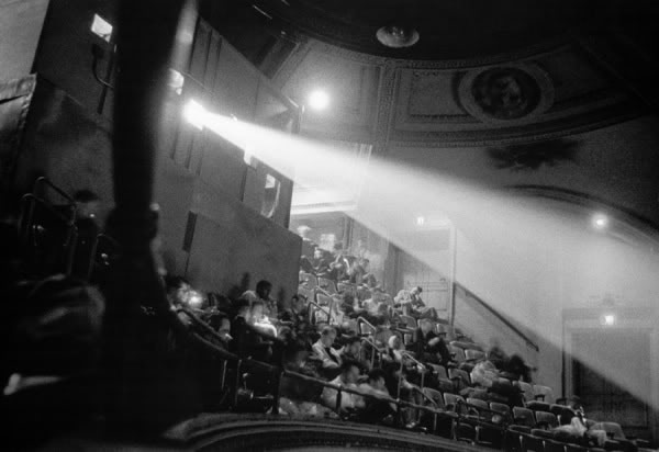 42nd street movie theater audience (Diane Arbus)