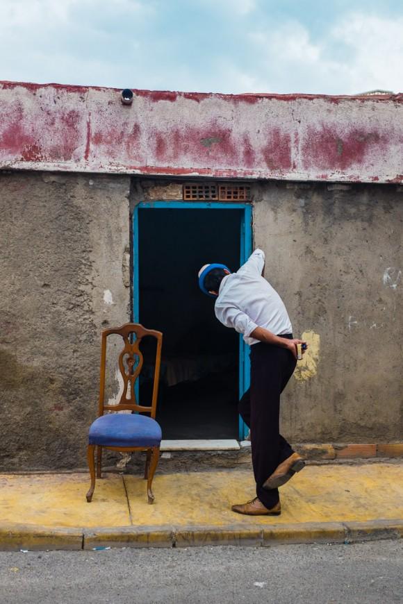 'Fuera de casa, de espaldas a la calle' de Antonio Martínez Corral