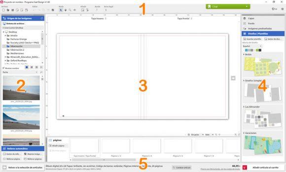Álbum digital Saal: Software Saal Design