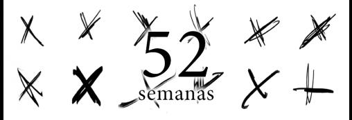 52 semanas, un publicación de Antonio Martínez Corral