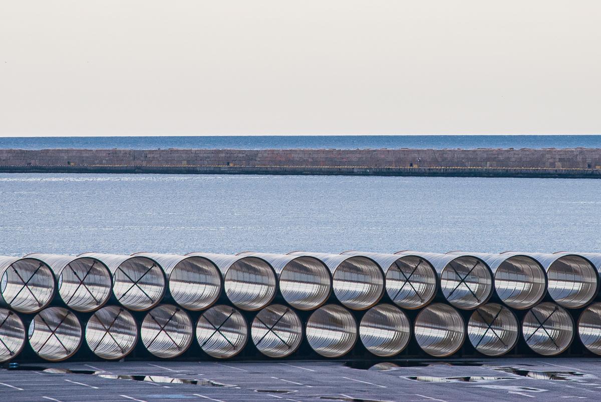 Foto 1 del puerto de Almería: Tubos