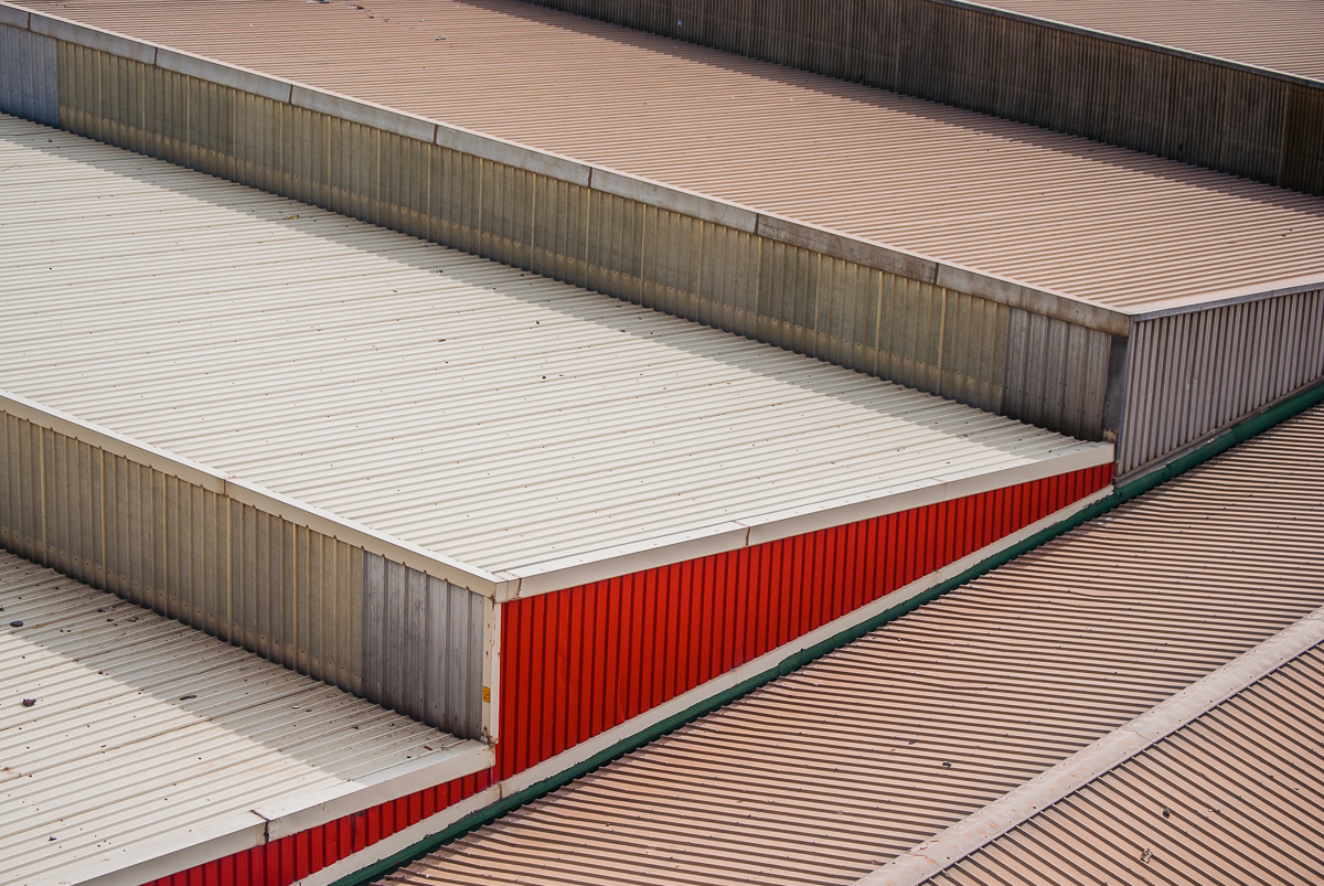 Foto 2 del puerto de Almería: tejados