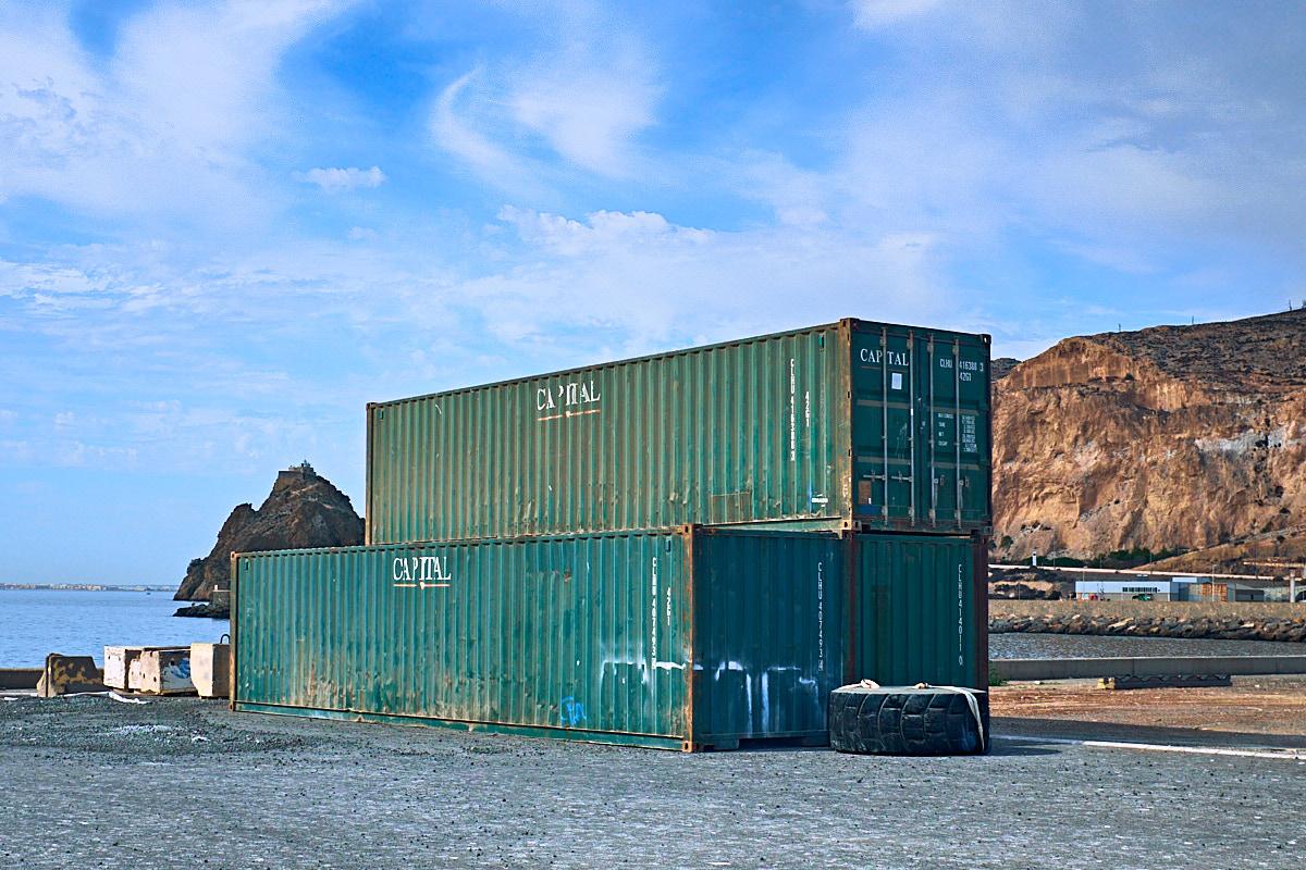 Foto 5 del puerto de Almería: Capital (contenedores)
