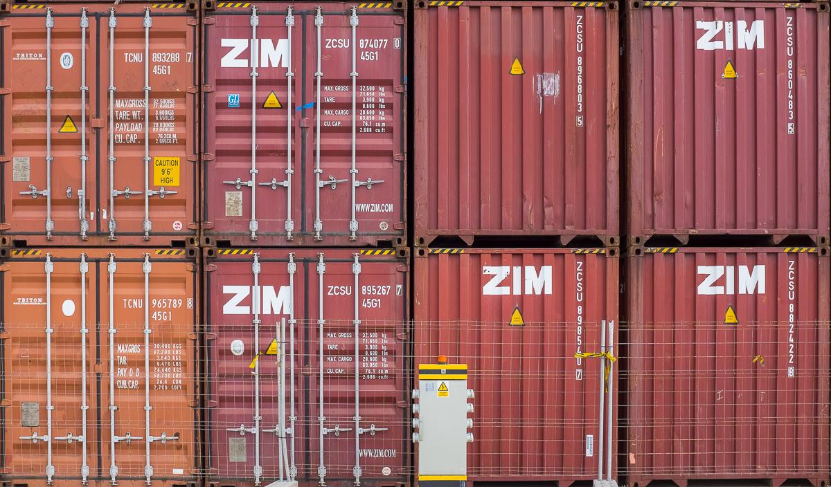 Foto 6 del puerto de Almería: ZIM (Contenedores)