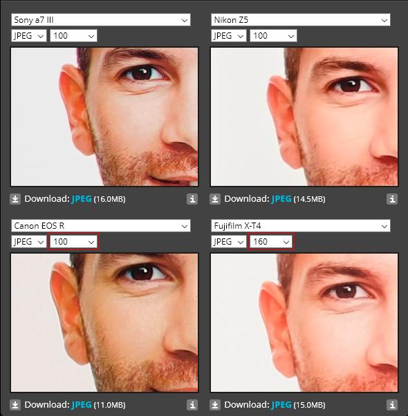 Análisis de la Sony A7III: Color y equilibrio de blancos, una comparativa con sus rivales.