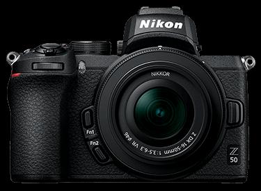 Candidata a cámara perfecta: Nikon Z50